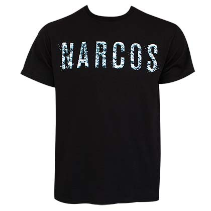 Narcos Men's Black T-Shirt