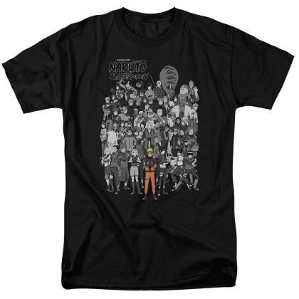 Naruto Characters Tshirt