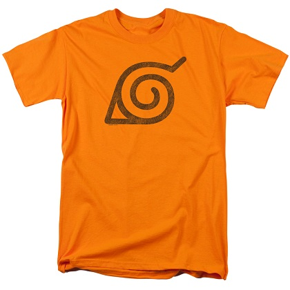 Naruto Leaves Symbol Tshirt