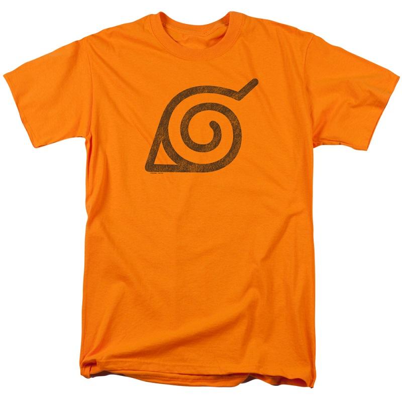 Naruto Leaves Symbol Tshirt