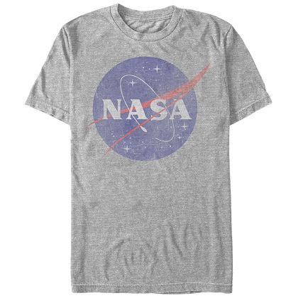 NASA Classic Logo Grey TShirt
