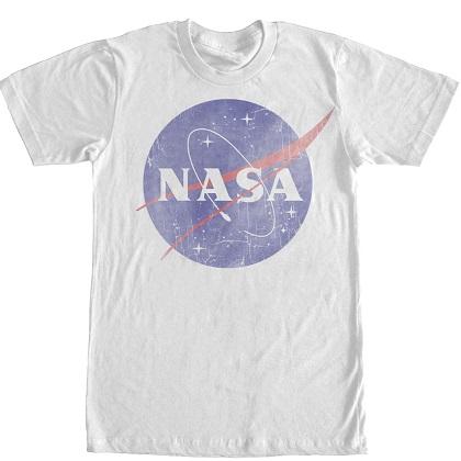 NASA Classic Logo White TShirt