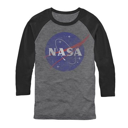 NASA Long Sleeve Raglan Shirt