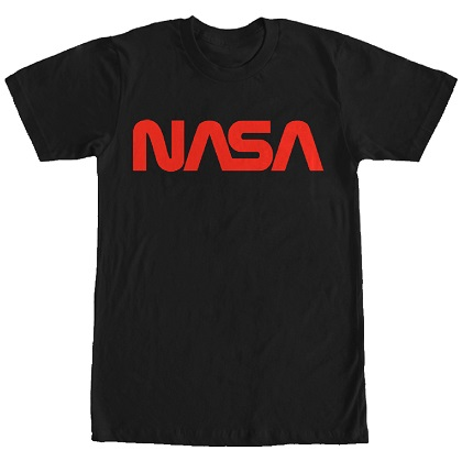 NASA Black and Red TShirt