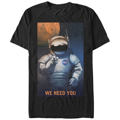NASA We Need You TShirt