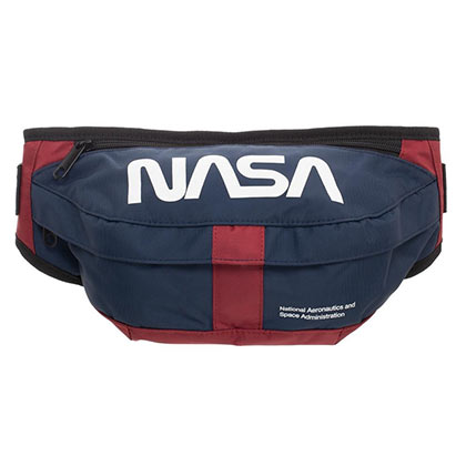 NASA Adjustable Blue Fanny Pack