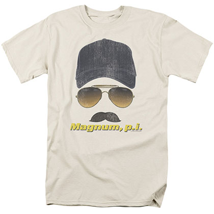 Magnum Pi Geared Up Beige T-Shirt