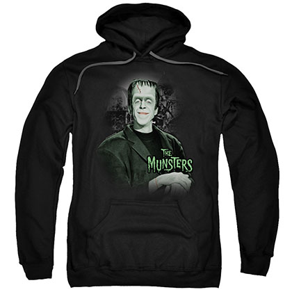 The Munsters Man Of The House Black Pullover Hoodie