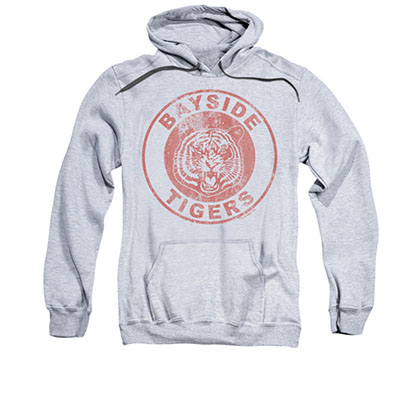 Saved By The Bell Bayside Tigers Gray Pullover Hoodie