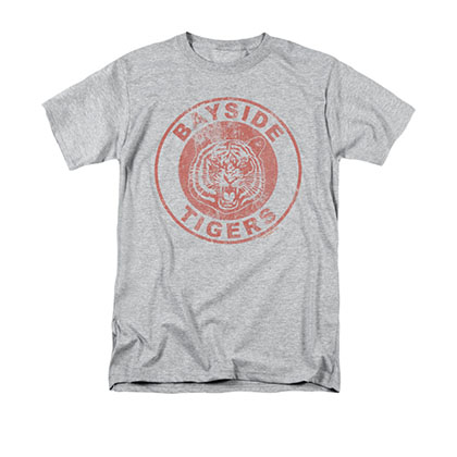 Saved By The Bell Bayside Tigers Gray T-Shirt