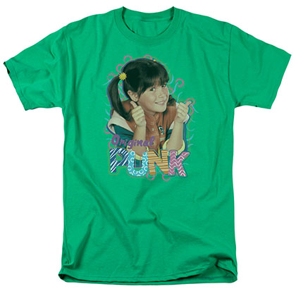 Punky Brewster Original Punk Green T-Shirt
