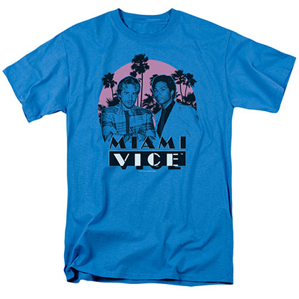 Miami Vice Stupid Blue T-Shirt