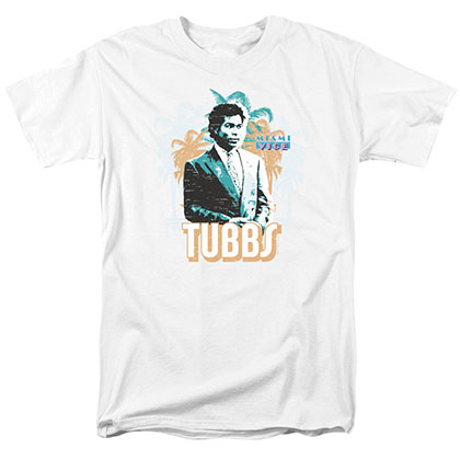 Miami Vice Tubbs White T-Shirt