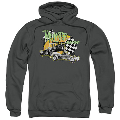 The Munsters Munster Racing Gray Pullover Hoodie