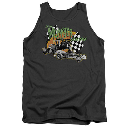 The Munsters Munster Racing Gray Tank Top