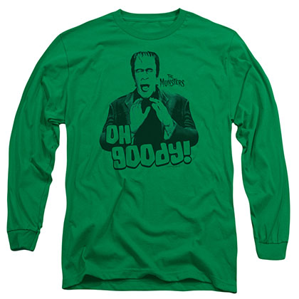 The Munsters Oh Goody Green Long Sleeve T-Shirt