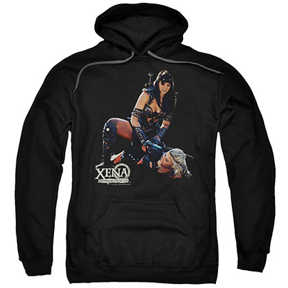 Xena In Control Black Pullover Hoodie