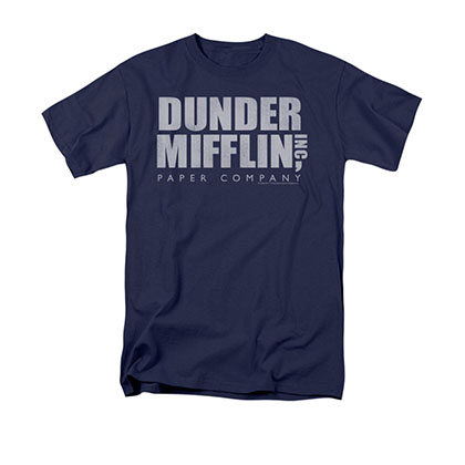 The Office Dunder Mifflin Blue T-Shirt