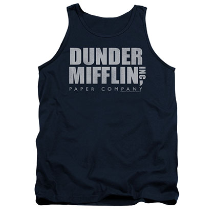 The Office Dunder Mifflin Blue Tank Top