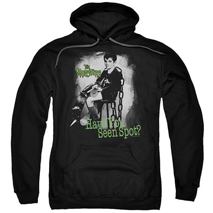 The Munsters Have You Seen Spot Black Pullover Hoodie