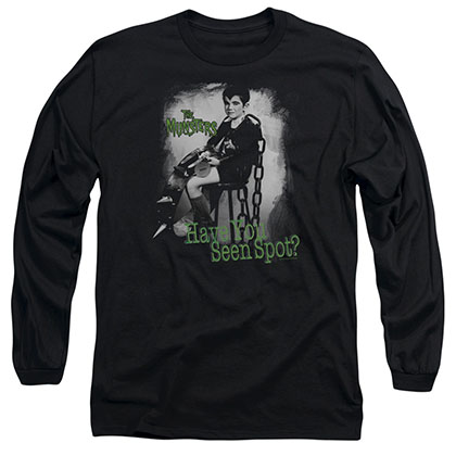 The Munsters Have You Seen Spot Black Long Sleeve T-Shirt