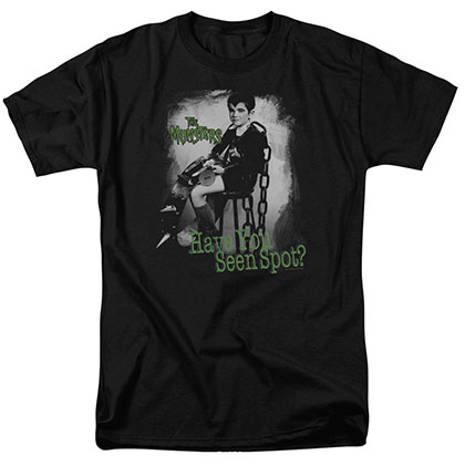 The Munsters Have You Seen Spot Black T-Shirt