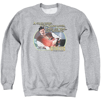Xena A Good Thief Gray Crew Neck Sweatshirt