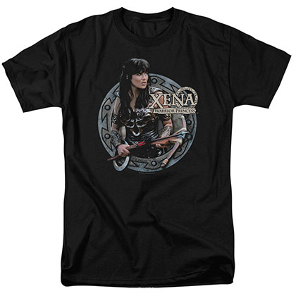 Xena The Warrior Black T-Shirt