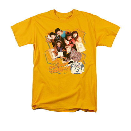 Saved By The Bell It's All Right Yellow T-Shirt