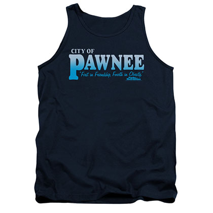 Parks & Recreation City Of Pawnee Blue Tank Top