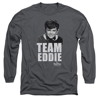 Munsters Team Edward Gray Long Sleeve T-Shirt