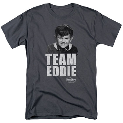 Munsters Team Edward Gray T-Shirt