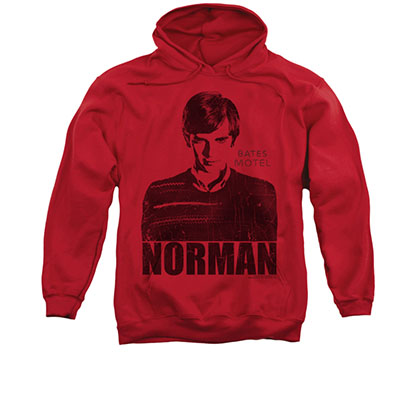Bates Motel Norman Red Pullover Hoodie