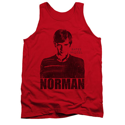 Bates Motel Norman Red Tank Top
