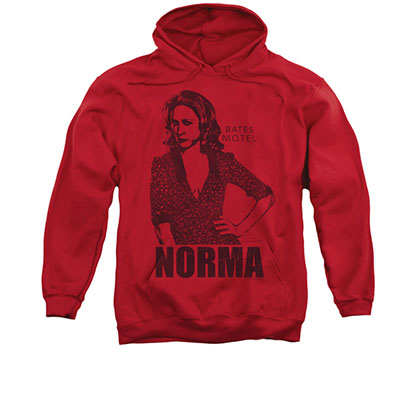 Bates Motel Norma Red Pullover Hoodie