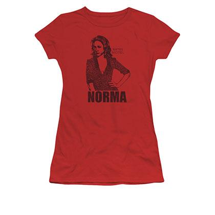 Bates Motel Norma Red Juniors T-Shirt