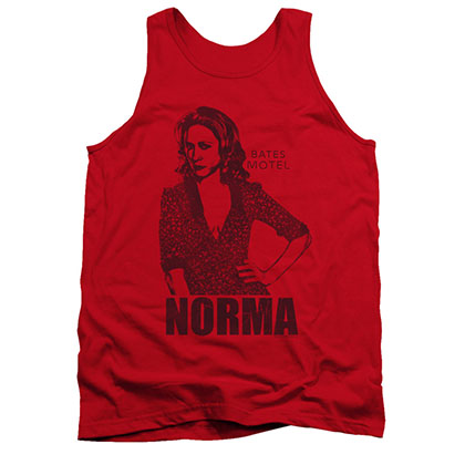 Bates Motel Norma Red Tank Top