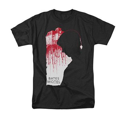 Bates Motel Criminal Profile Black T-Shirt