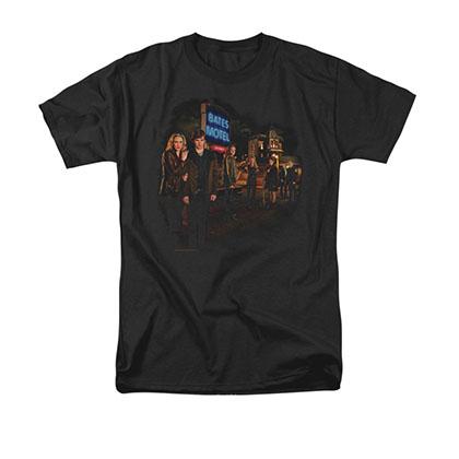 Bates Motel Cast Black T-Shirt