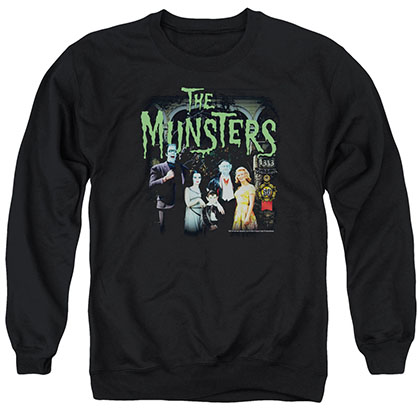Munsters 1313 50 Years Black Crew Neck Sweatshirt