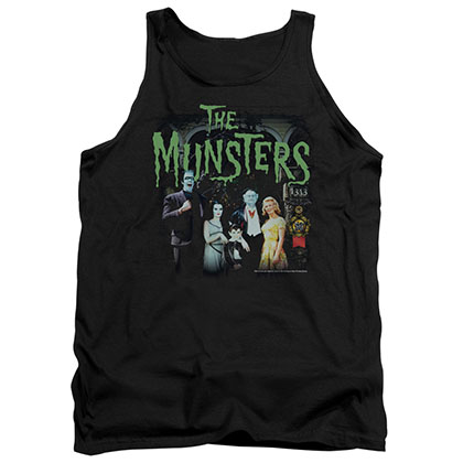 Munsters 1313 50 Years Black Tank Top
