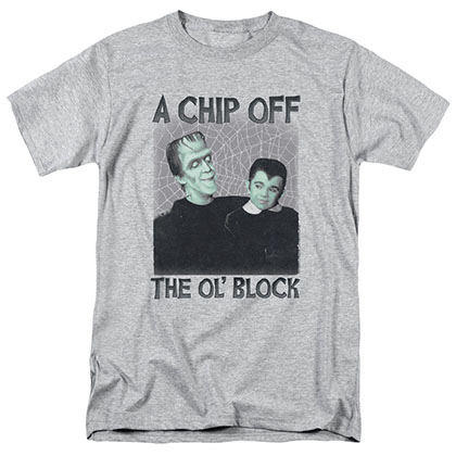 Munsters Chip Gray T-Shirt