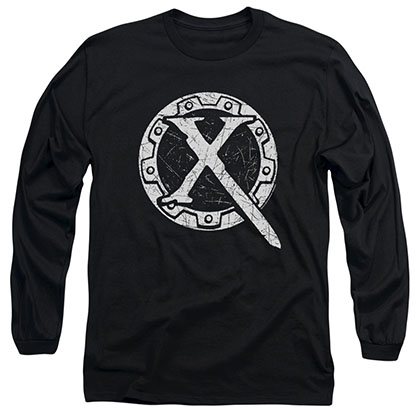 Xena Sigil Black Long Sleeve T-Shirt