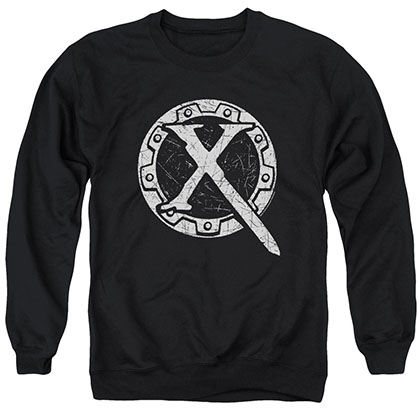 Xena Sigil Black Crew Neck Sweatshirt