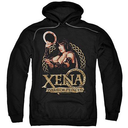 Xena Royalty Black Pullover Hoodie