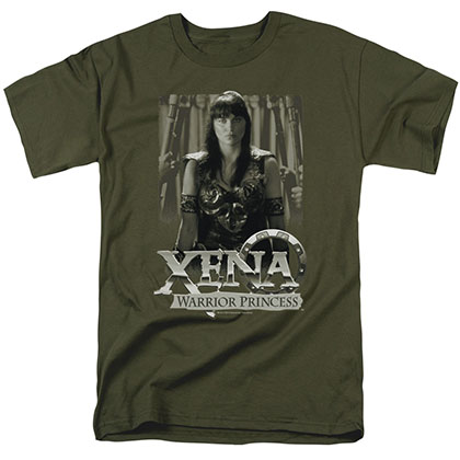 Xena Honored Green T-Shirt