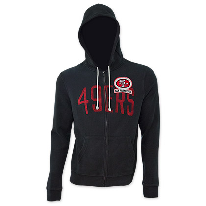 NFL San Francisco 49ers Junk Food Black Hooded Sweatshirt