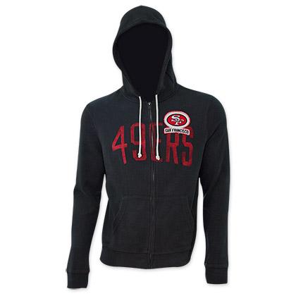 NFL San Francisco 49ers Black Junk Food Hoodie