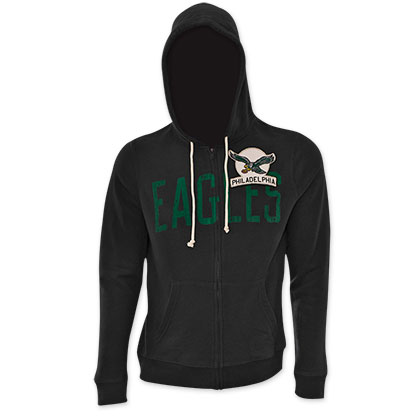 NFL Philadelphia Eagles Black Junk Food Hoodie