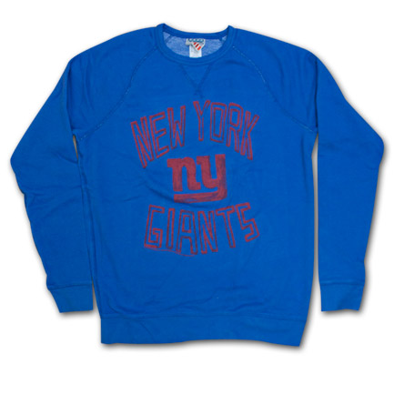 New York Giants Junk Food Brand Sweatshirt - Blue